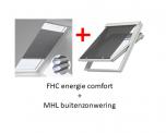 VELUX FOP energie combi zonwering voor UK08 - U08 - 808 - 8