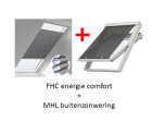 VELUX FOP energie combi zonwering voor SK06 - S06 - 606 - 4