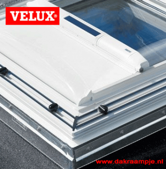 VELUX MSG buitenzonwering wit voor VELUX lichtkoepel 120x120 cm