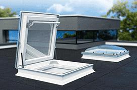 Fakro dakbetreding lichtkoepel bolvormig 90x90 cmFakro dakbetreding lichtkoepel bolvormig 90x90 cm