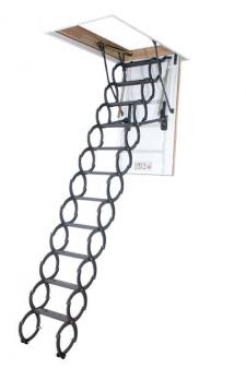 Fakro LST schaartrap 280 cm bakhoogte 18 cm en bakmaat 51x80 cm.