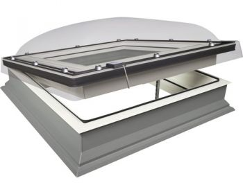 Lichtkoepel elektrische ventilatie fakro 100x150 cm