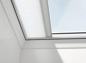 VELUX elektrisch plisse gordijn FMG voor VELUX lichtkoepel 100x100