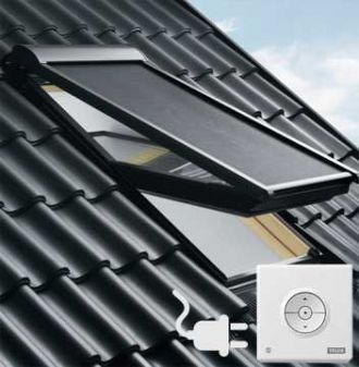 VELUX buiten zonwering MML elektrisch FK08 - F08
