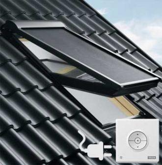 VELUX buiten zonwering MML elektrisch UK10 - U10 - 810
