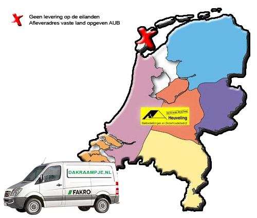 Bezorgen Fakro nederland