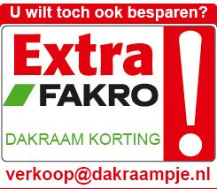 Extra Fakro korting